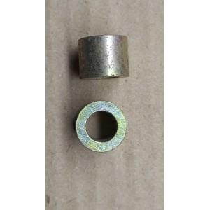 Втулка металлическая 10х18х18мм M10