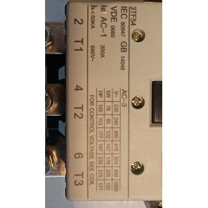 Контактор Siemens 3TF54