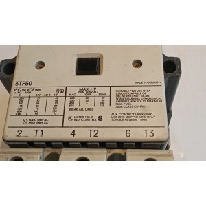 Контактор Siemens 3TF50